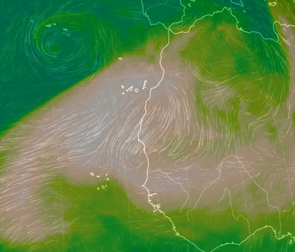 Calima en Canarias hasta el jueves 18 de junio