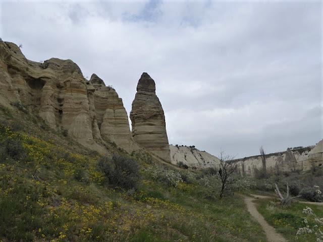 rocce nella white valley