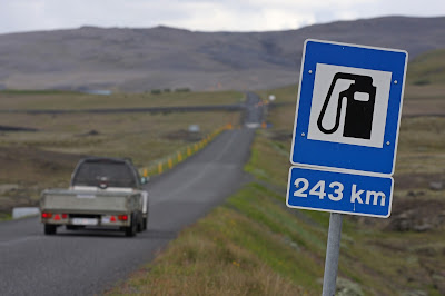 Petrol stations in Iceland. Useful tips