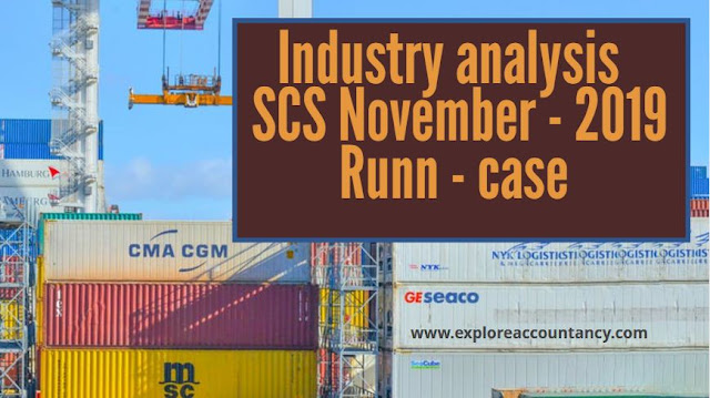 Industry analysis video of SCS - November 2019 - CIMA Strategic case study