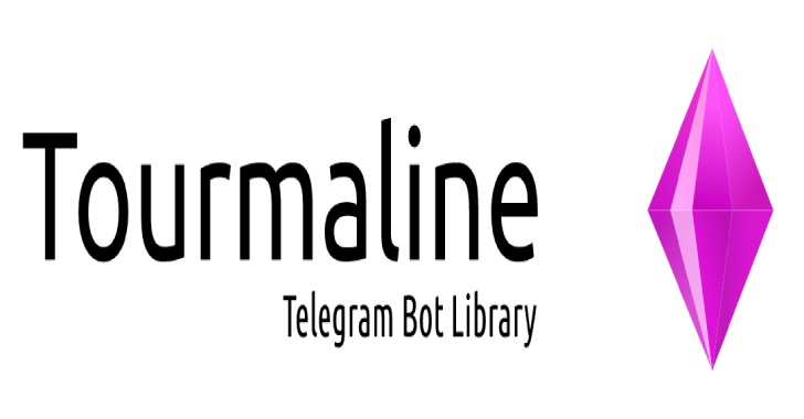 Tourmaline : Telegram Bot Framework For Crystal