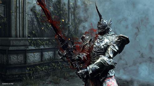 Demon's Souls Penetrator scene captured on PS5