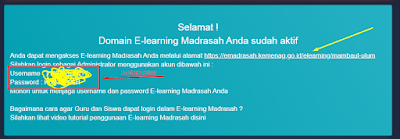 Domain E-learning Madrasah Gratis
