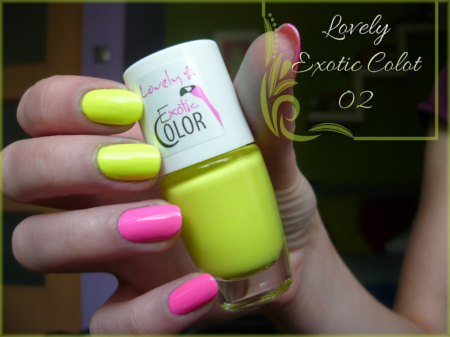Lovely Exotic Color 02! + BP- L018 stamp plate review