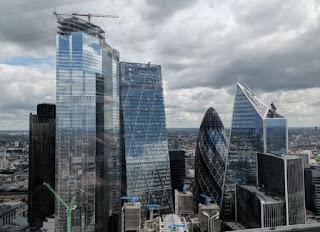 La City de Londres desde el Sky Garden.