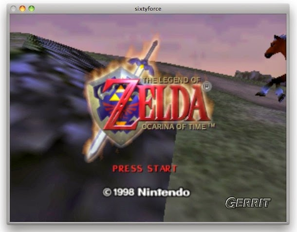 Zelda Ocarina of Time para Mac