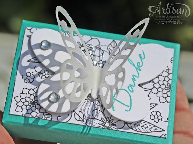 Verpackung Schmetterlinge