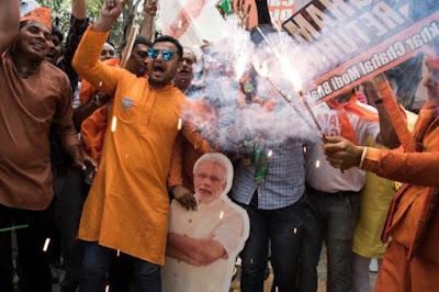 Résultats des élections en Inde