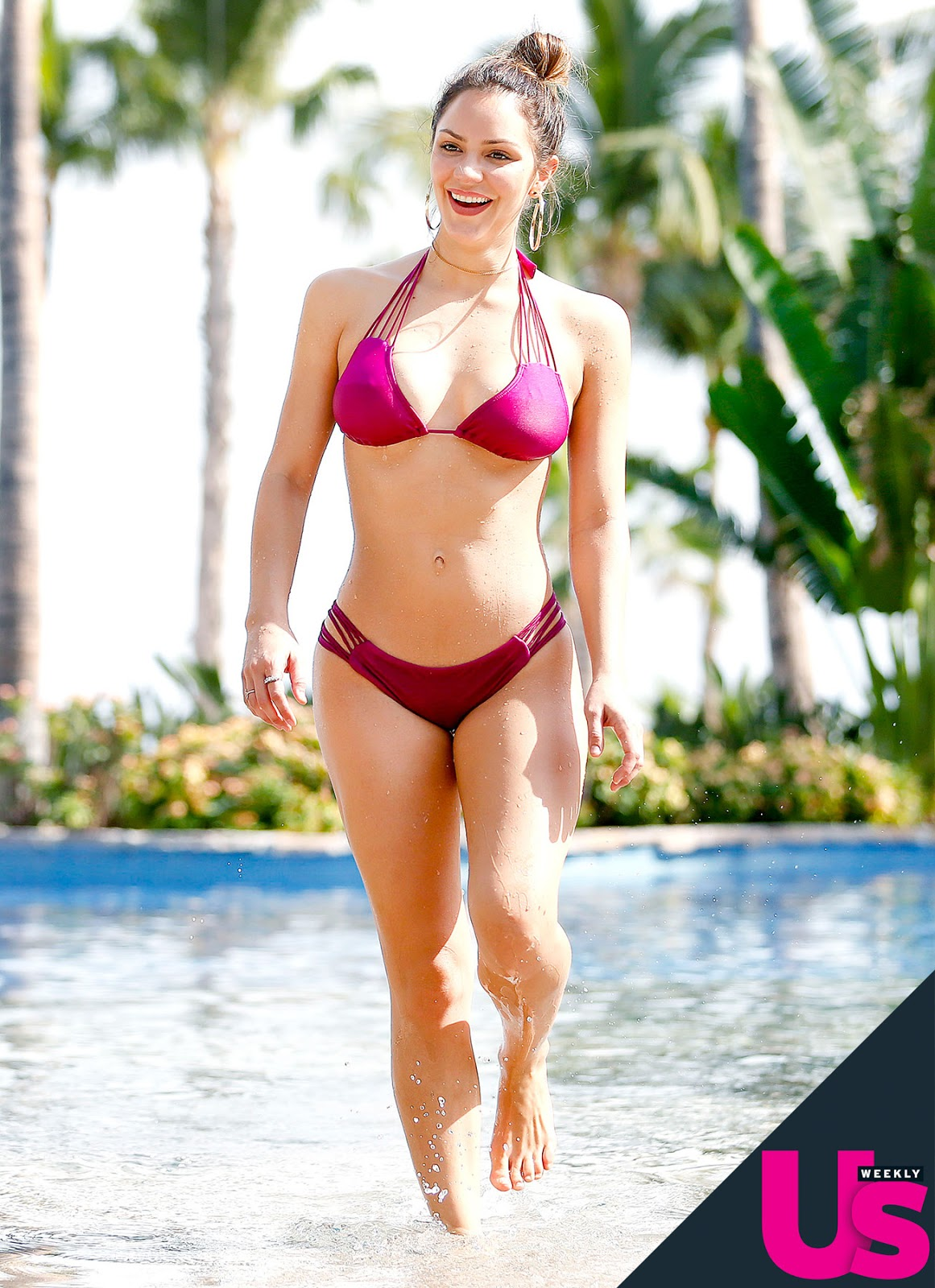 Katharine McPhee in Bikini 2017