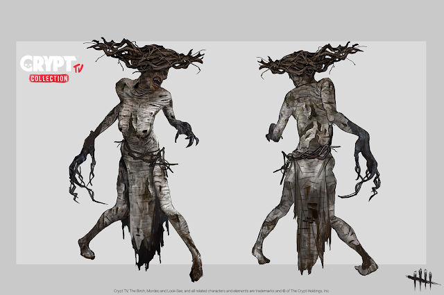 Dead by Daylight Crypt TV Collection The Hag as The Birch Witch