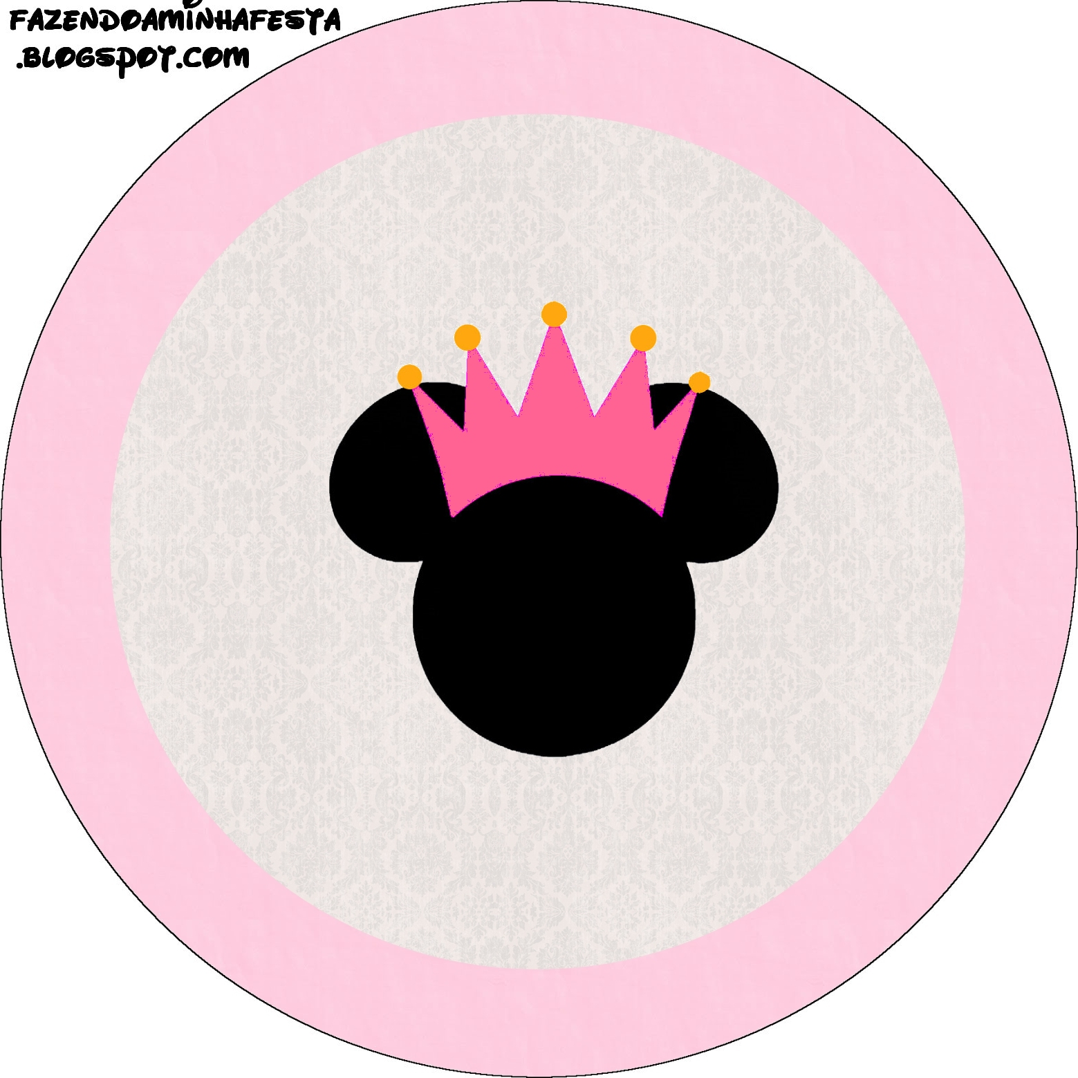 Shower Invitaciones Como Mouse De Baby Minnie Hacer Para