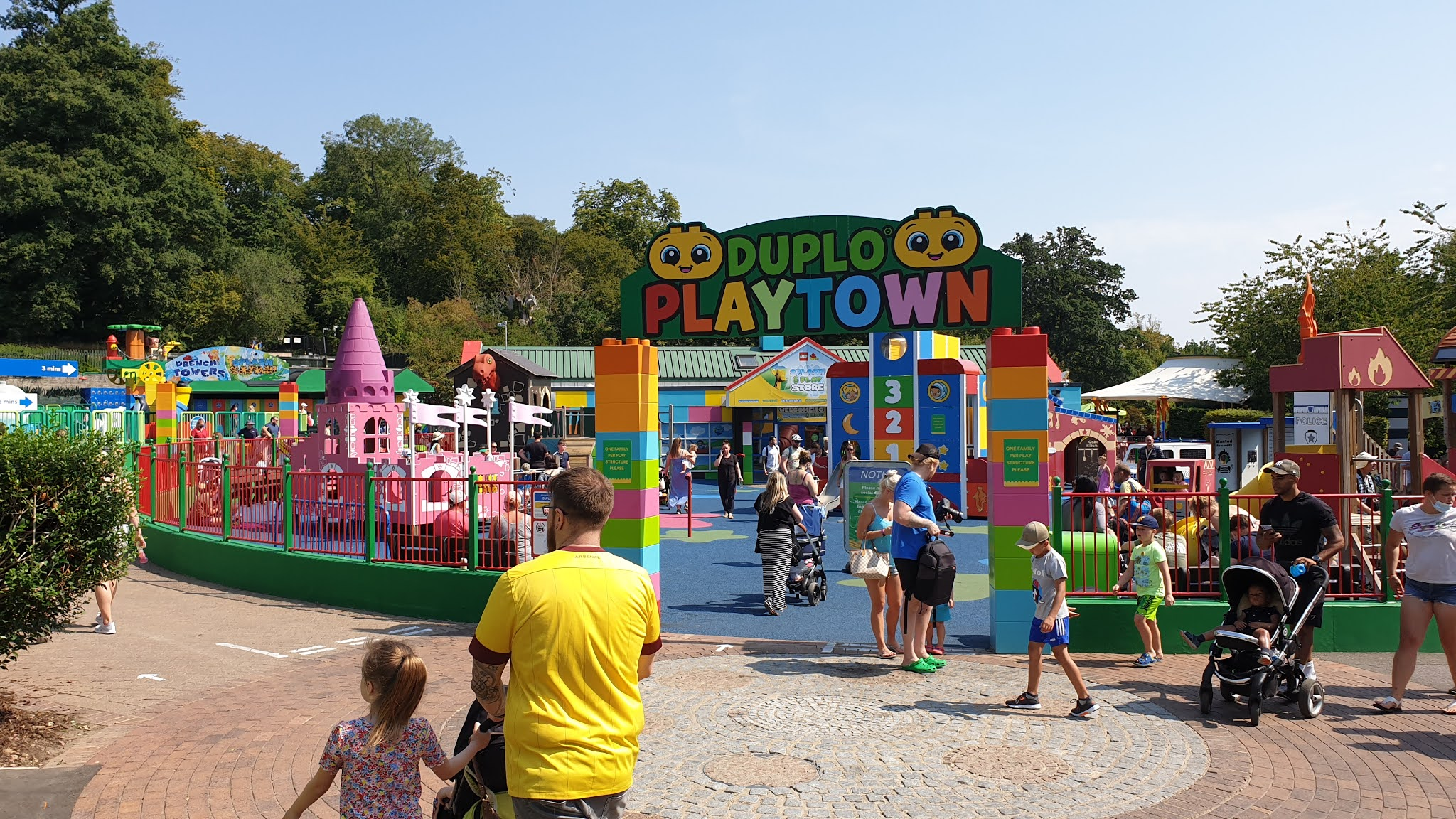 duplo playground at legoland