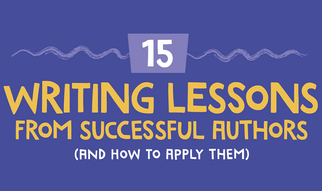 Important writing lessons from renowned authors