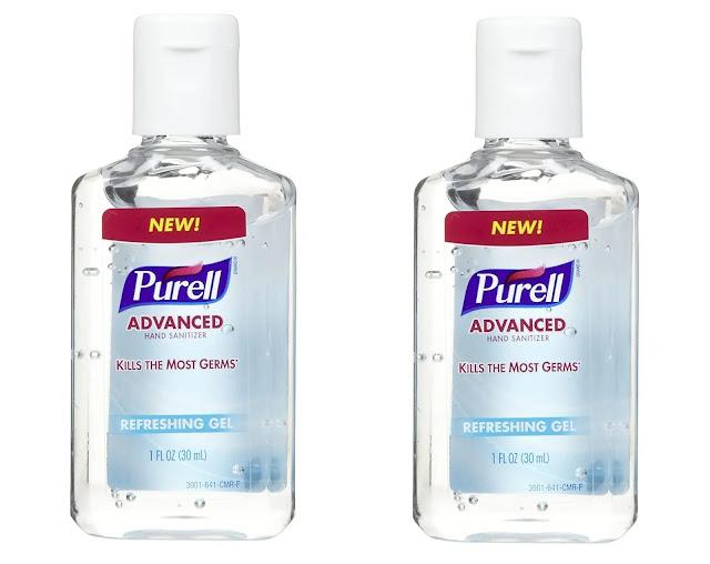 1- Purell Advanced Hand Sanitizer