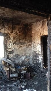 пожар  п. Алтынай по адресу Казарма 214 км.