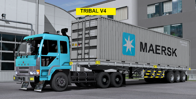 Download Truck Fuso The great (Tribal v4) By SMT Group