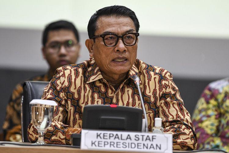 Moeldoko Ingatkan Soal Adab Mengkritik, Netizen: Bacot, Elu Aja Jadi Pelaku Begal Partai Orang!