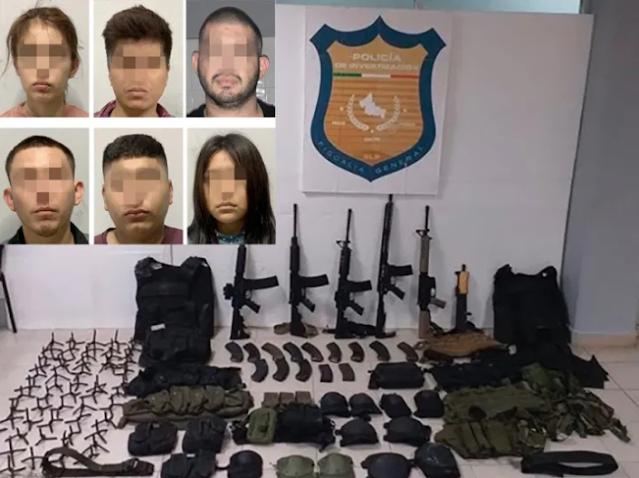 """Tras enfrentamiento capturan a 6 Sicarios en Ciudad Valles, se trata de 2 """"Finas y delicadas damas"""" y 4 """"caballeros"""""""