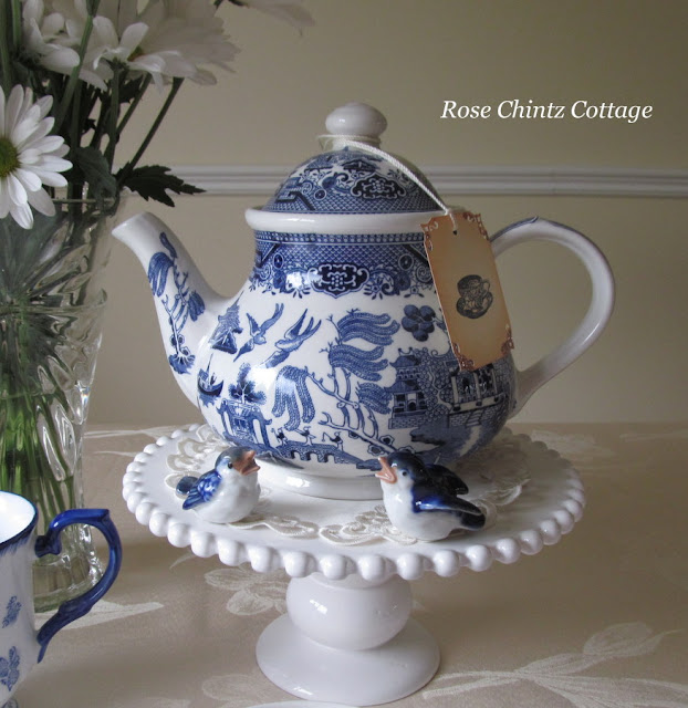 Rose Chintz Cottage A Dutch Treat For Tea Time