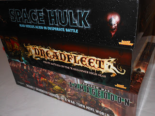 Space Hulk, Dreadfleet, and Shadow War: Armageddon