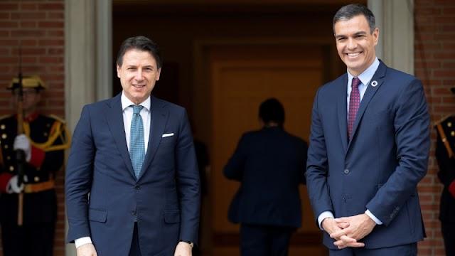 Az EU-s helyreállítási alap mielőbbi elfogadását sürgeti a spanyol és az olasz kormányfő