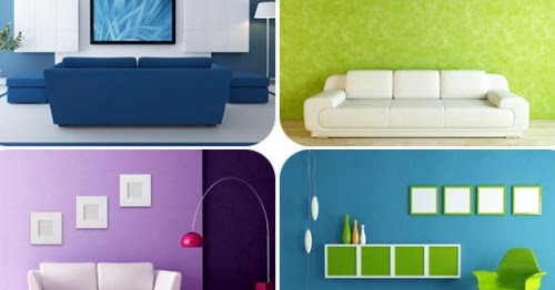 Warna Cat Ruang Tamu Yang Sejuk Rancangan Desain Rumah Minimalis