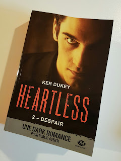 Heartless, tome 2 : Despair de Ker Dukey