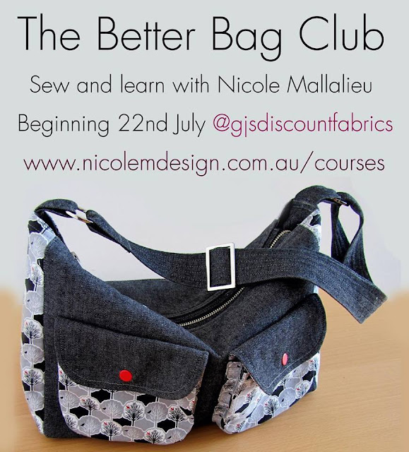 The Better Bag Club Sewing Classes