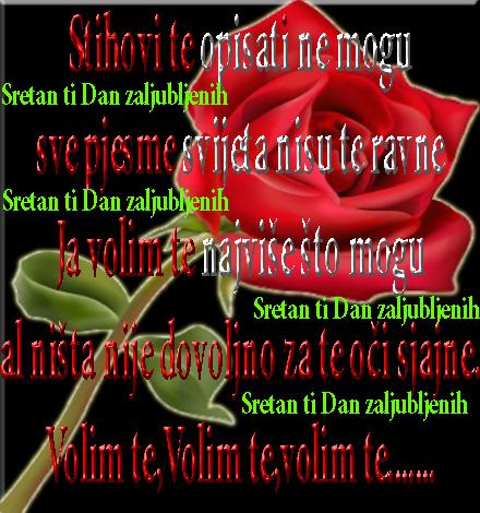 Stih za Dan zaljubljenih