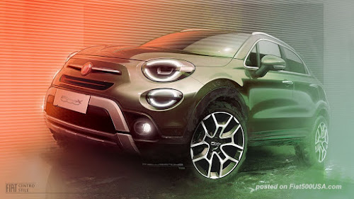 Redesigned 2019 Fiat 500X