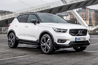 Volvo XC40 (2018) Front Side