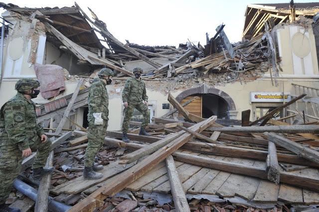Seven people killed in earthquake in Croatia
