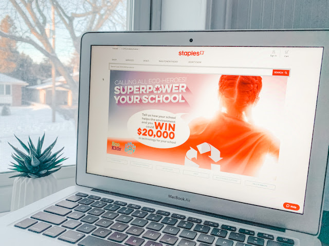 Staples Canada Superpower your School Contest 2020