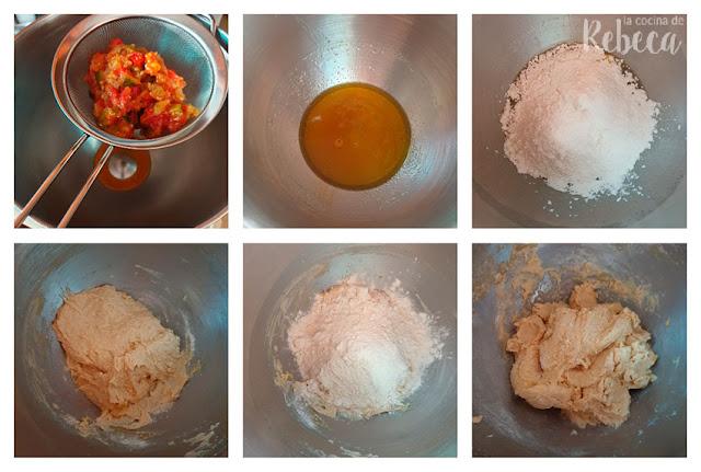 Receta de empanada de sardinillas: arranque de la masa