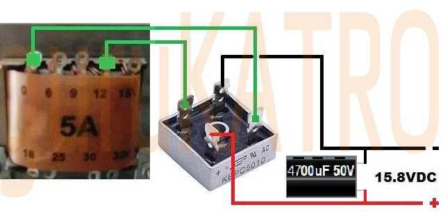 Ukuran Dioda Kiprok Untuk Trafo 5 Ampere