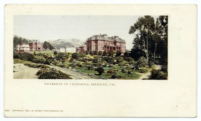 University of California, Berkeley postcard from NYPL