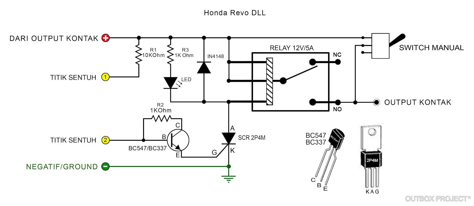 Relay Circuit Basiccircuit Circuit Diagram Seekiccom