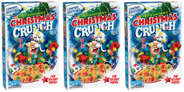 Christmas Crunch Cereal Finds Its Way Back on Store ...