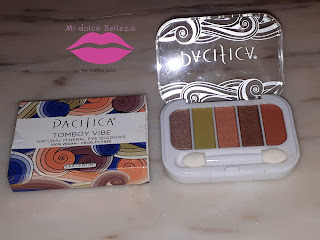 PACIFICA Mineral 5 Eyeshadow Palette in Tomboy Vibe