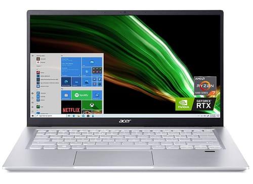 Acer Swift X SFX14-41G-R1S6 Full HD Creator Laptop