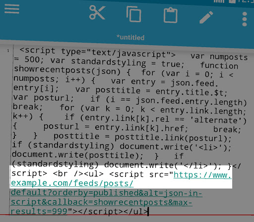 modify JS code