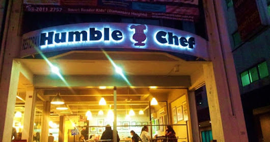 THE HUMBLE CHEF: PROUDLY SERVES DELICIOUS MEALS AT A 'STUDENT PRICE'
