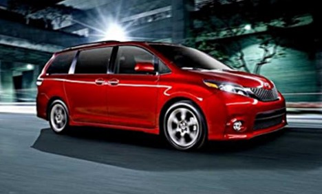 2018 Toyota Sienna Redesign and Release Date