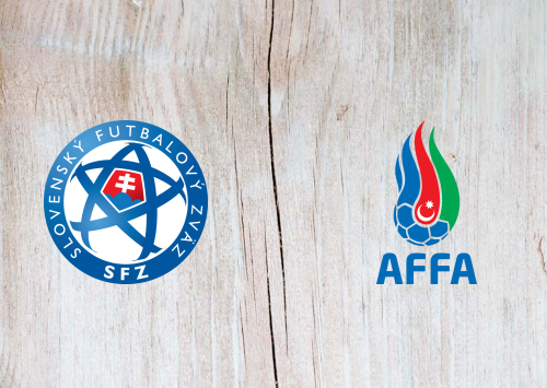 Slovakia vs Azerbaijan -Highlights 19 November 2019
