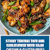 Sticky Teriyaki Tofu and Cauliflower with Silan (Vegan & Gluten Free)