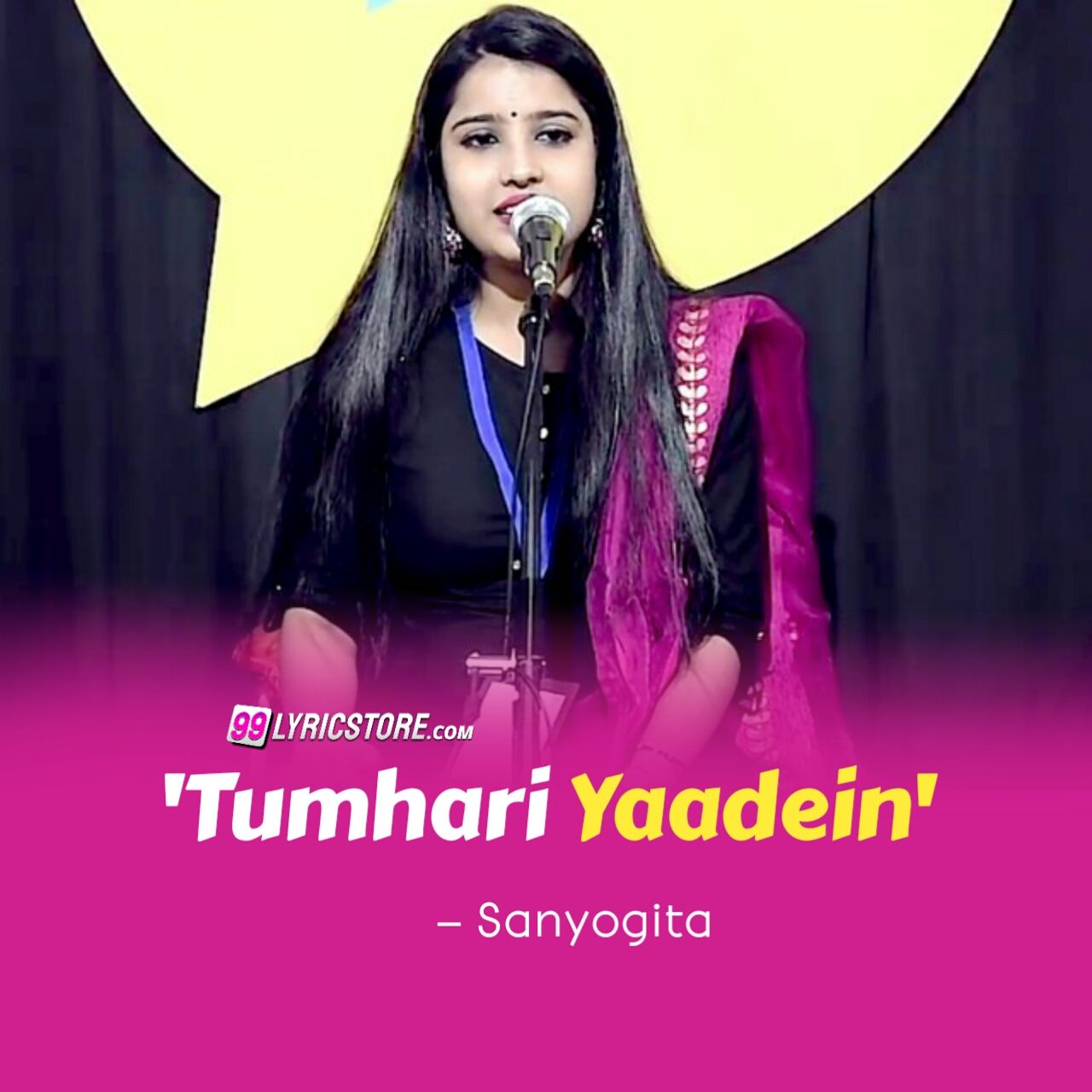 'Tumhari Yaadein' Poetry has written and performed by sanyogita on the social house's plateform.