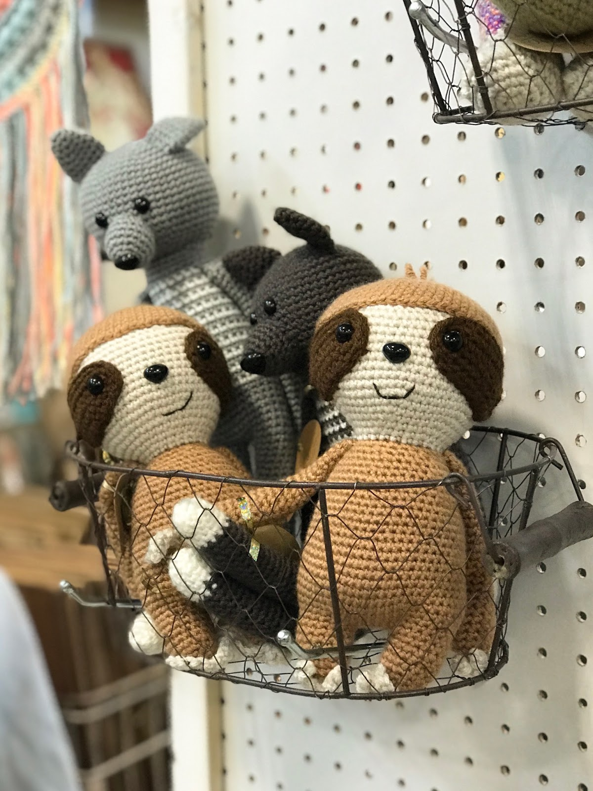 crocheted animals by on a whim