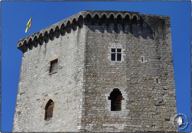 ORTHEZ (64) - Château Moncade (XIIIe-XIXe siècles)