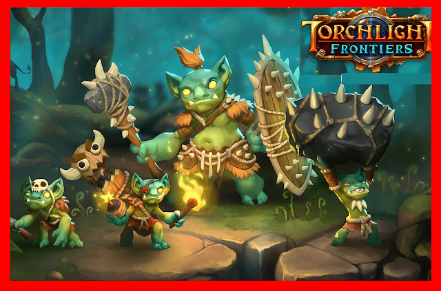 Torchlight Frontiers mmo