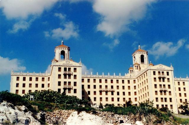 Patio del Hotel Nacional Havana